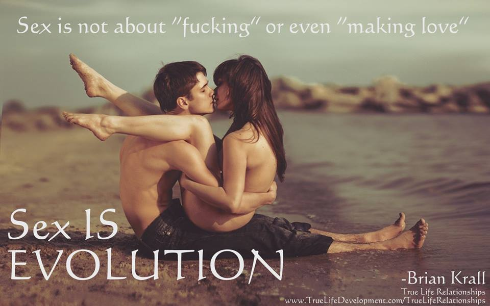 Sex is evolution
